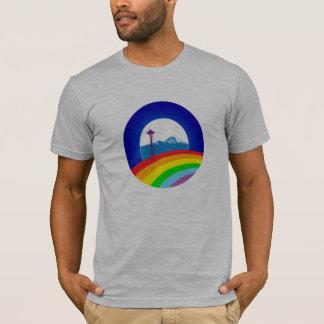 Obama Pride, Ltd Edition Seattle Shirt, Gray T-Shirt