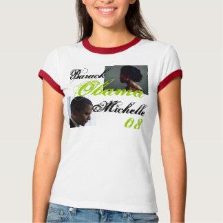 Obama profile, michelle profile, Barack, Michel... T-Shirt