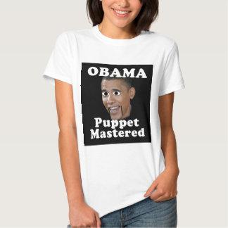 Obama, Puppet Mastered T Shirts