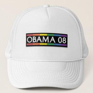 Obama Rainbow Pride Trucker Hat