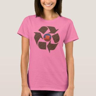 Obama Recycle Peace Logo Womens Long Sleeve Shirt