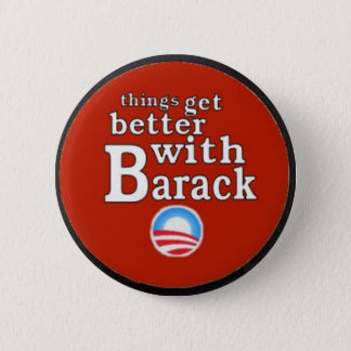 Obama Red Barack Button