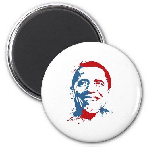 Obama: Red State, Blue State Fridge Magnet