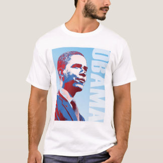 Obama Red White and Blue T-Shirt