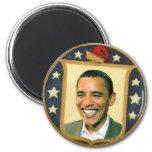 Obama Retro Shield Magnet Magnet