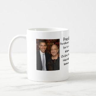 Obama/Rev Wright Coffee Mug