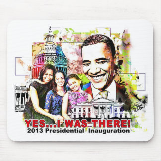 Obama's 2013 Presidential  Inauguration mouse pad