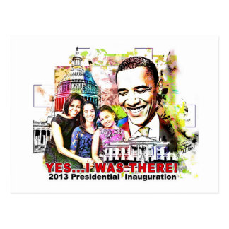 Obama's 2013 Presidential  Inauguration post card