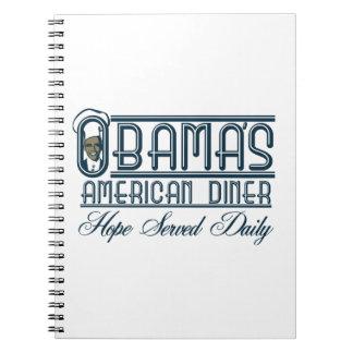 Obama s Diner Note Book