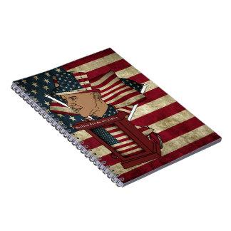 Obama's Podium Note Books