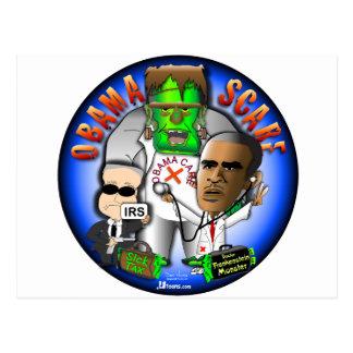 Obama Scare Postcard