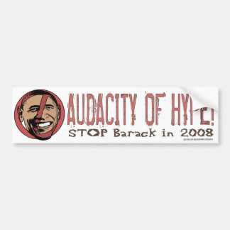 Obama Scares Me Bumper Sticker