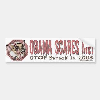Obama Scares Me Bumper Sticker