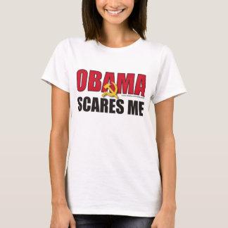 Obama scares me - Customized T-Shirt