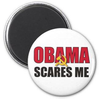 Obama Scares Me Magnet