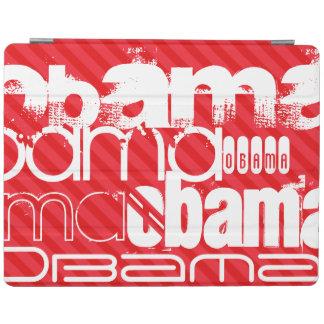 Obama; Scarlet Red Stripes iPad Cover