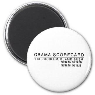 Obama Scorecard Magnet