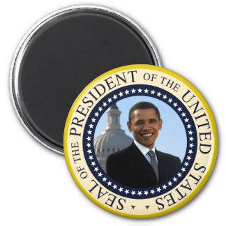Obama Seal Blue 6 Cm Round Magnet