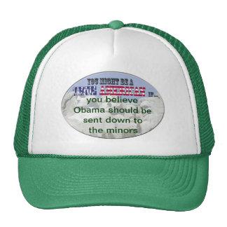 obama sent to minors cap