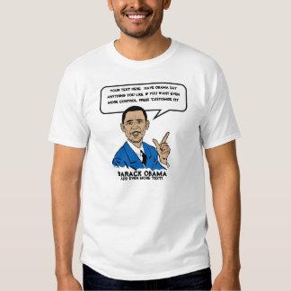 Obama Sez Personalized T-Shirt