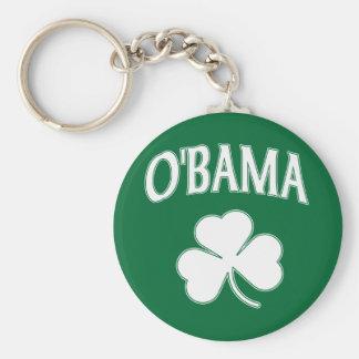 Obama Shamrock Keychains