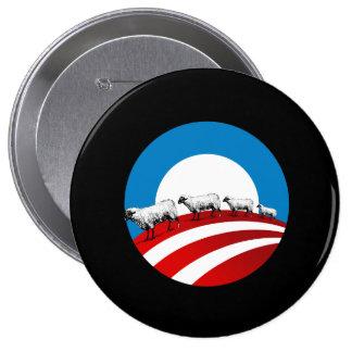 Obama Sheep 10 Cm Round Badge
