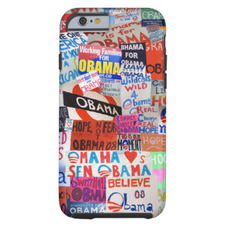 Obama Sign Collage iPhone 6 case