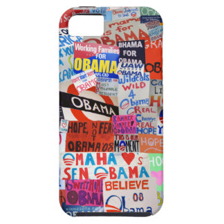 Obama Sign Collage iPhone Case