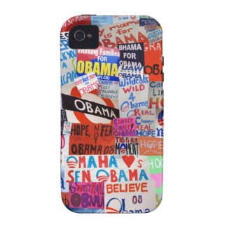Obama Sign Collage iPhone Case iPhone 4/4S Covers
