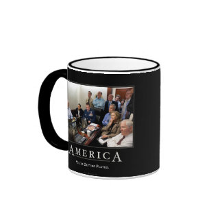 Obama Situation Room Demotivational Mugs