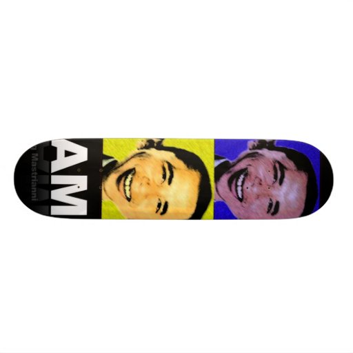 "Obama SkateBoard ""AM"""