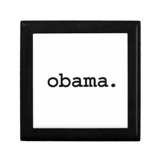 obama. small square gift box
