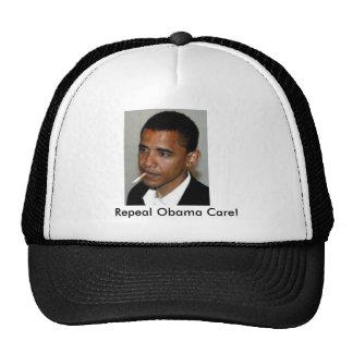 obama_smoking, Repeal Obama Care! Cap