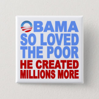 Obama So Loved the Poor Button