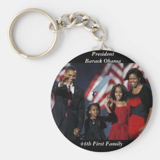 Obama Souvenir Round Keychain