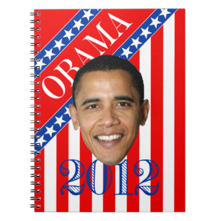 Obama Stars & Stripes Spiral Note Books