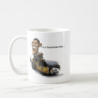 Obama Steamroller Mug