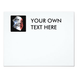 Obama StStripe 3black Personalized Invitations