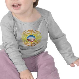 Obama Sun Design on Tshirts Hoodies