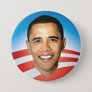 Obama Sunrise 3 inch Button