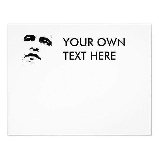 Obama T-shirt Invitations