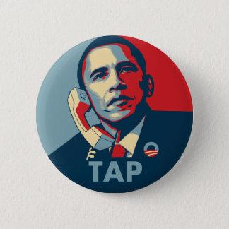 Obama - Tap 6 Cm Round Badge