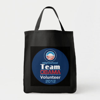 Obama TEAM Grocery Tote Bag