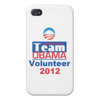 Obama Team iPhone 4 Cases