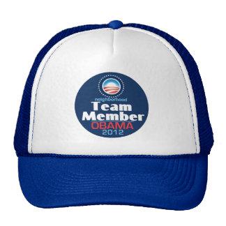 Obama Team Member Mesh Hats