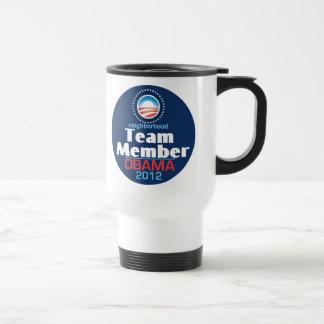 Obama Team Member Mugs