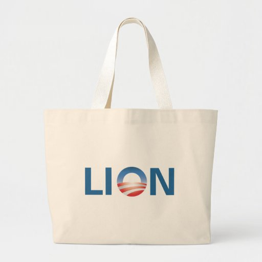Obama the Lion Tote Bag