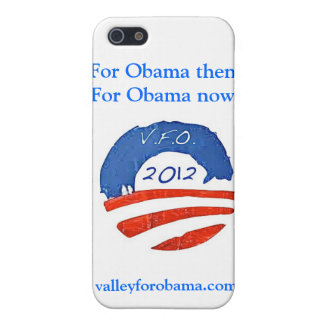 OBAMA THEN AND NOW VFO iPhone case iPhone 5/5S Cover