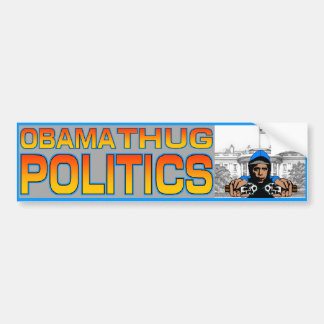 Obama Thug Bumper Sticker