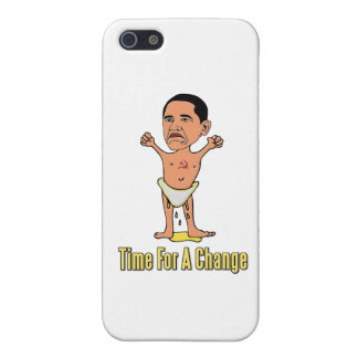 Obama Time For A Change iPhone 5/5S Cover